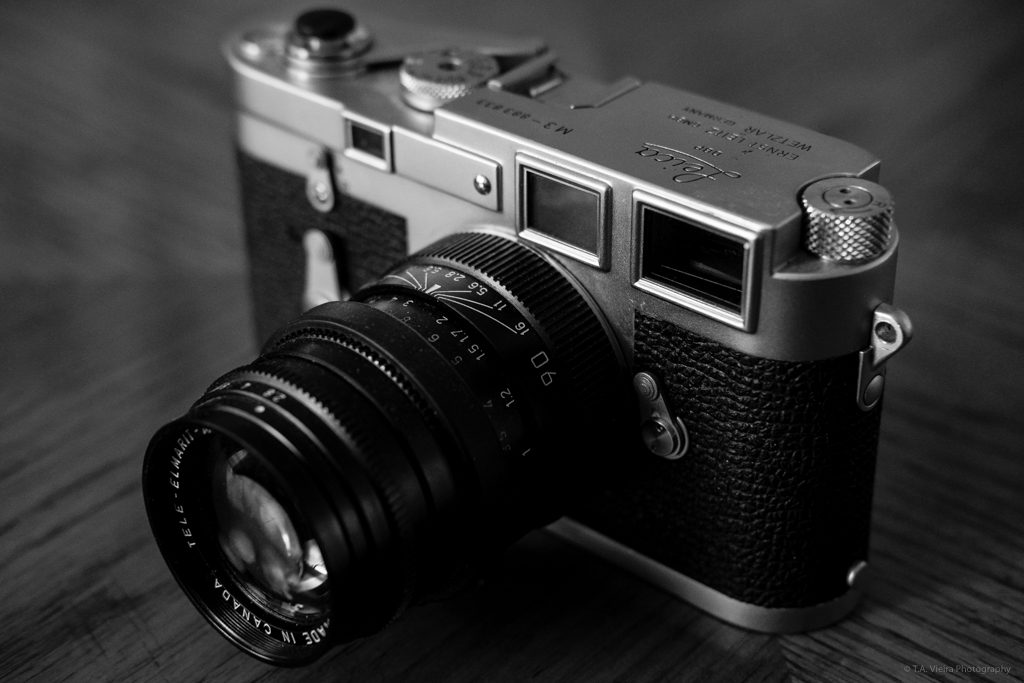 1957 Leica M3, Double-Stroke with a Tele-Elmarit 90mm
