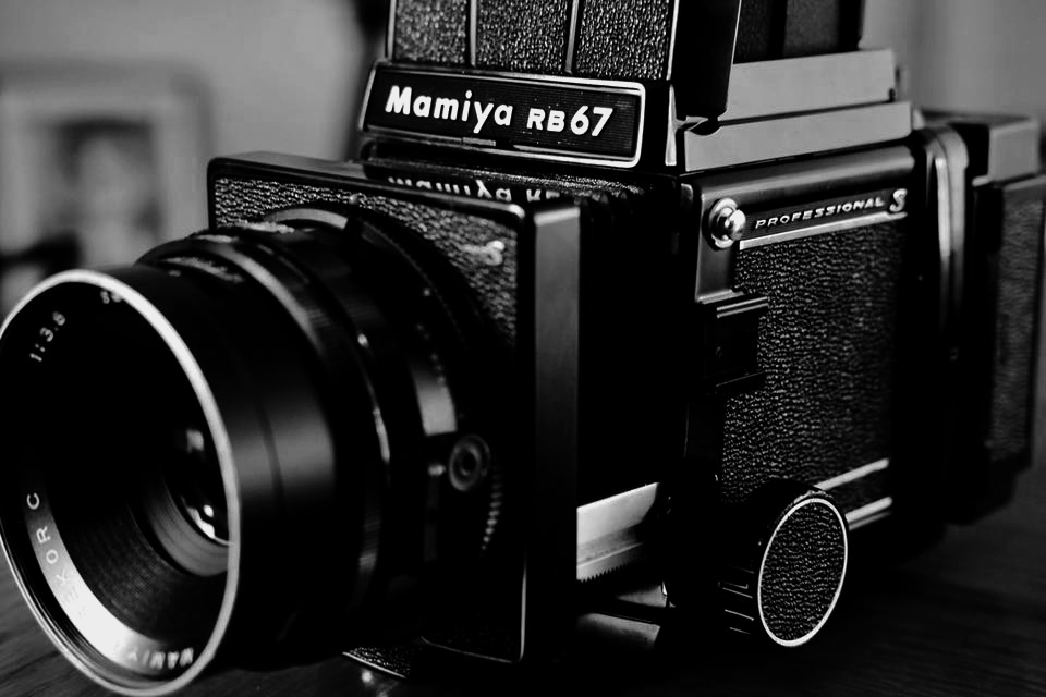 Mamiya RB67 medium format film camera